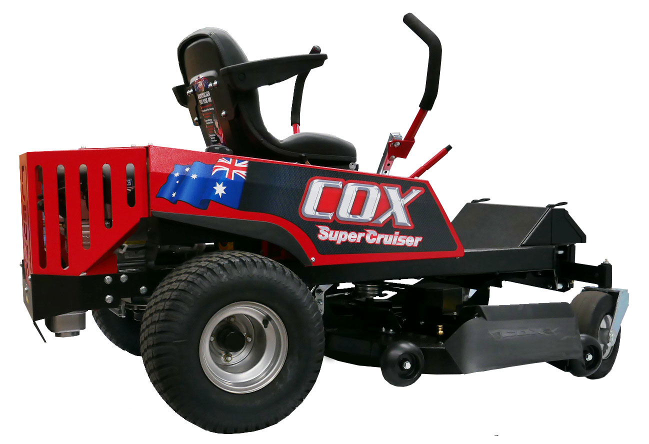 Image of the Cox Super Cruiser 2448 Zero Turn Lawn Mower