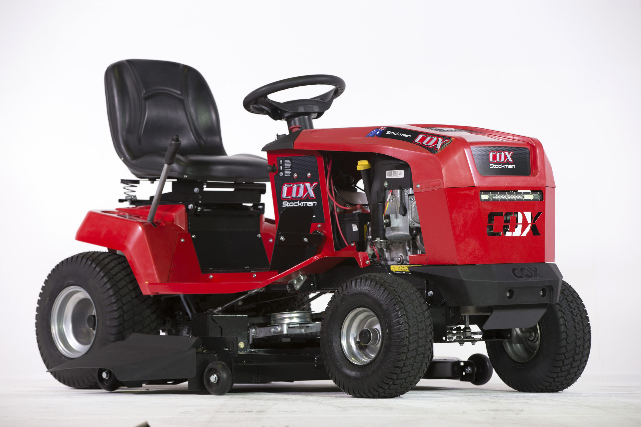 Image of the Cox Stockman Plus 17B32 Ride on Lawn Mower