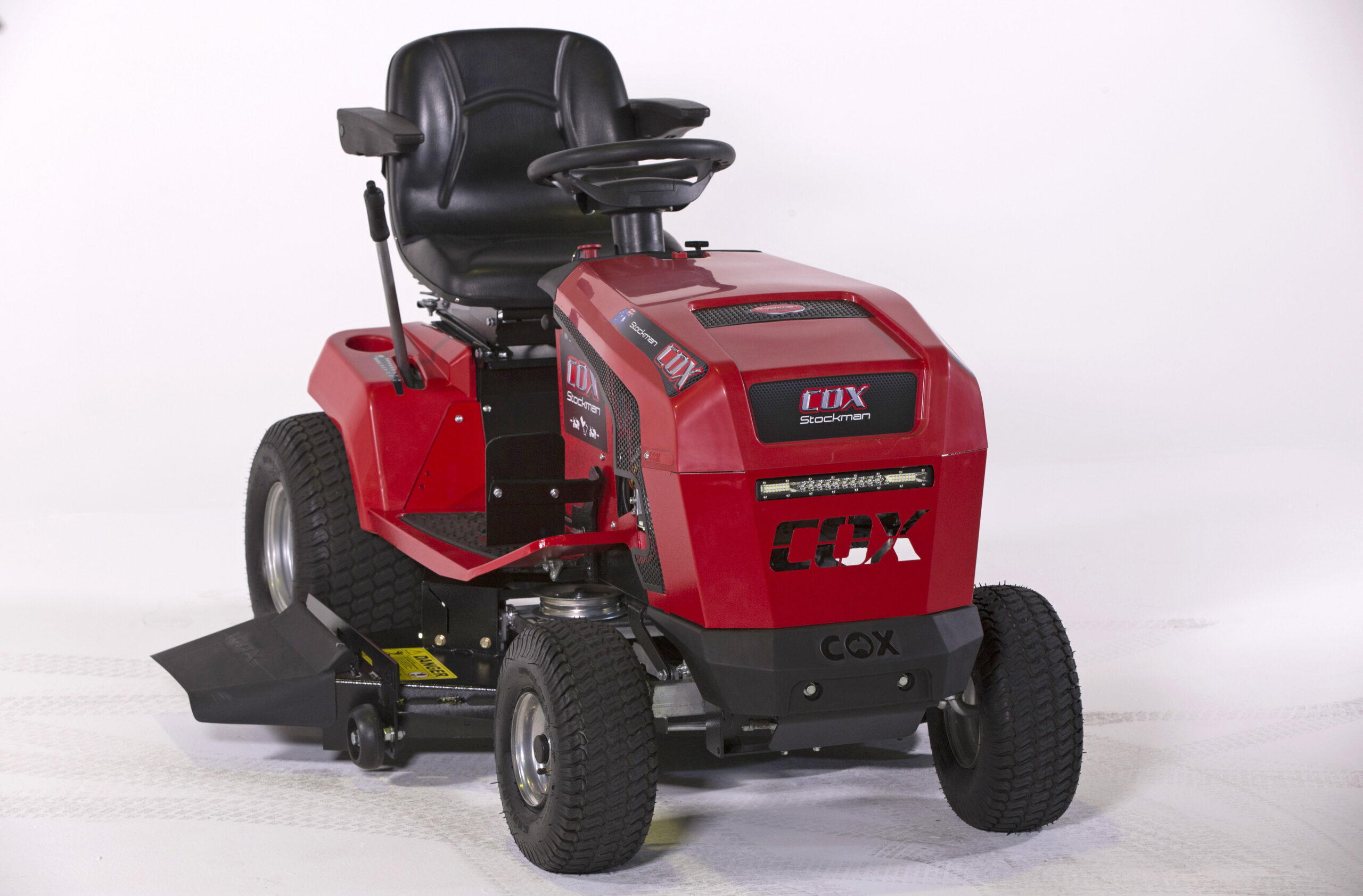 image of the Cox Stockman Plus CTL20B40 Ride on Lawn Mower