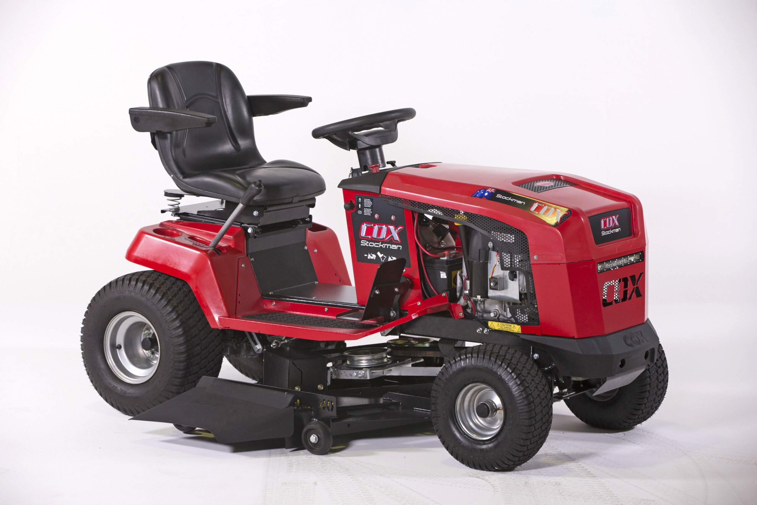 Image of the Cox Stockman Pro CTL20B35 Ride on Lawn Mower